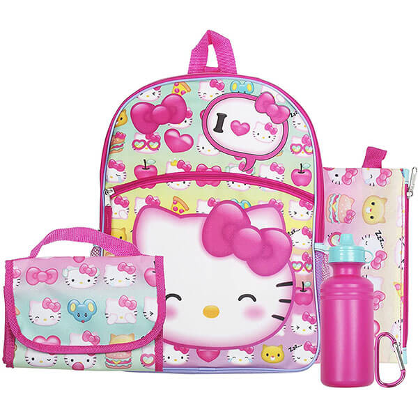 Hello Kitty Essential Sets Backpack