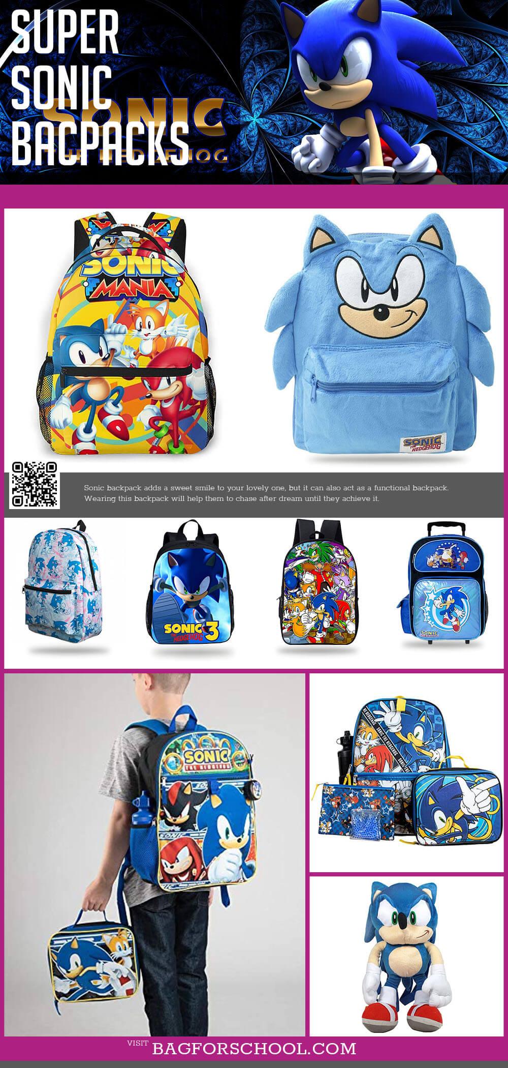 Super Sonic Backpacks