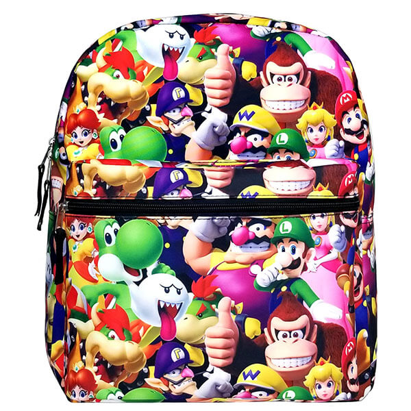 3D Print Mario Universe Backpack