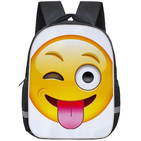 Heavy-duty Emoticon Travel Backpack