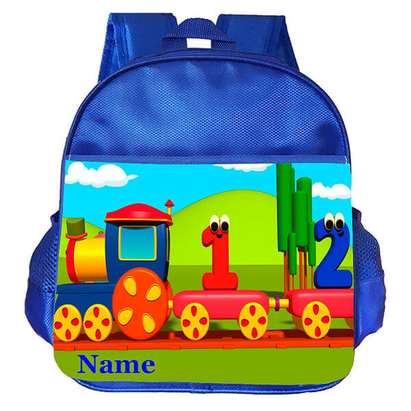 Travel with Numbers Personalized Backpack