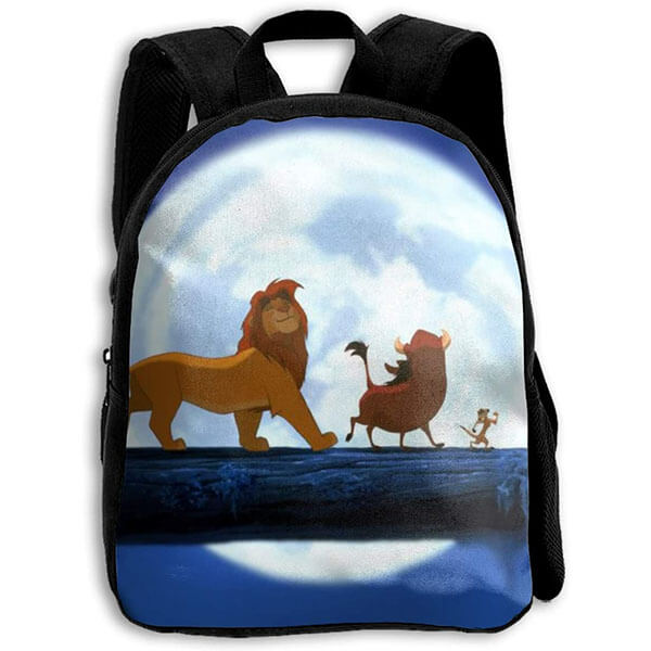 Upholstery Fabric Lion King Backpack