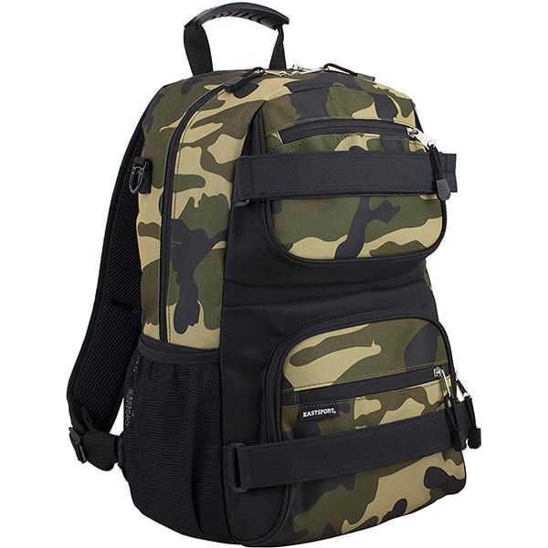 Velcro Camouflage Backpack