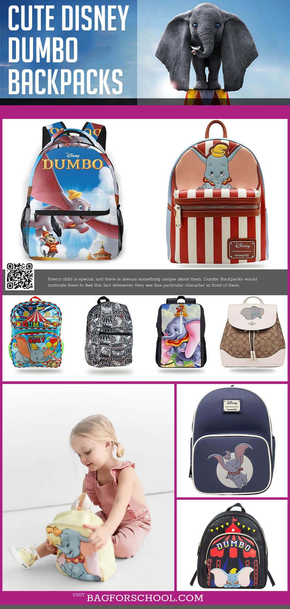 Disney Dumbo Backpacks