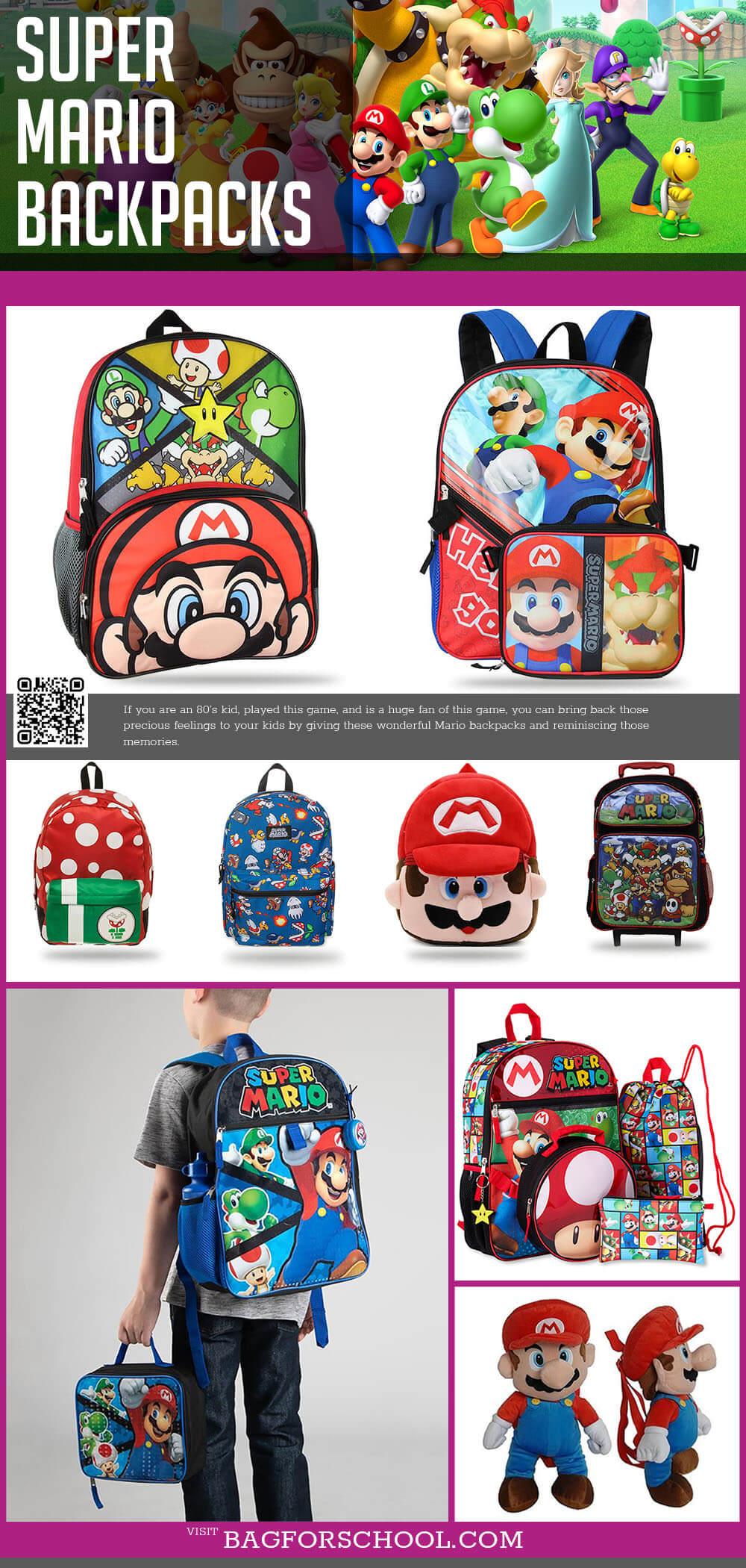 Mario Backpacks