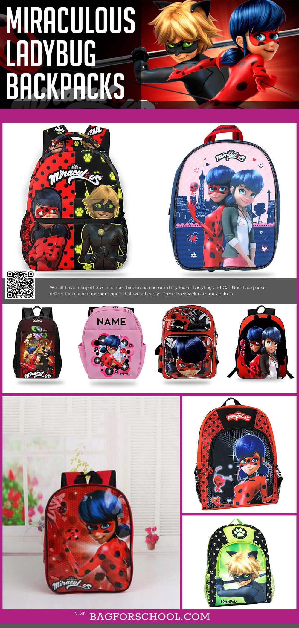 Miraculous Ladybug Backpacks