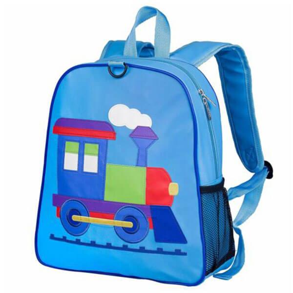 Colorful Applique Designed School Backpack