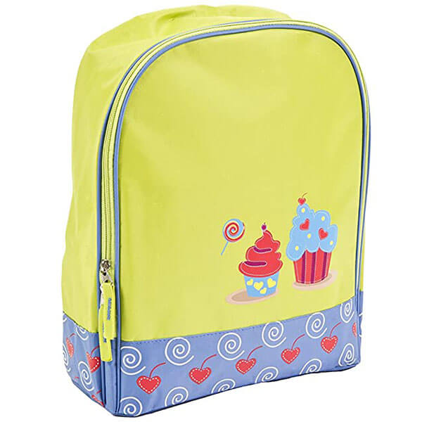 Durable Synthetic Cupcake Book Bag