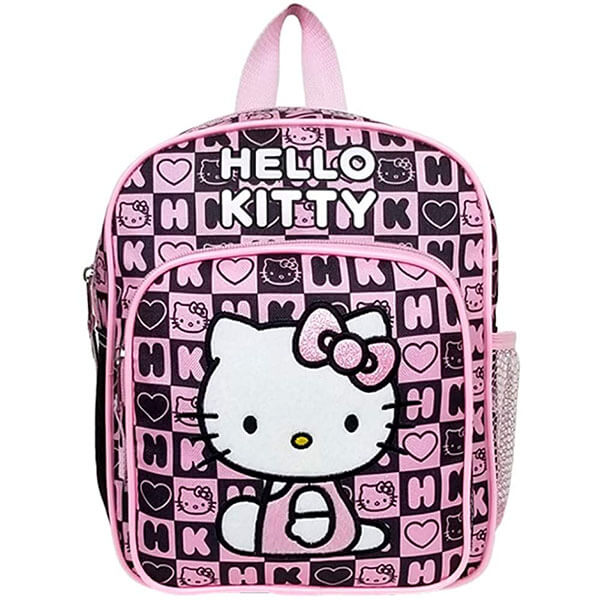 Hello Kitty Backpack with Alphabet Print
