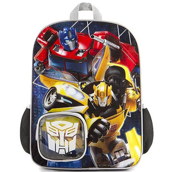 Optimus Prime and Bumblebee Backpack