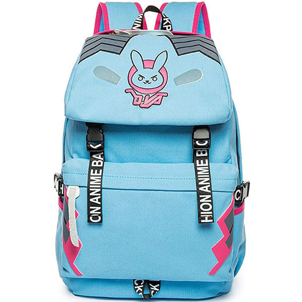 Vintage Anime Backpack with Bunny Logo