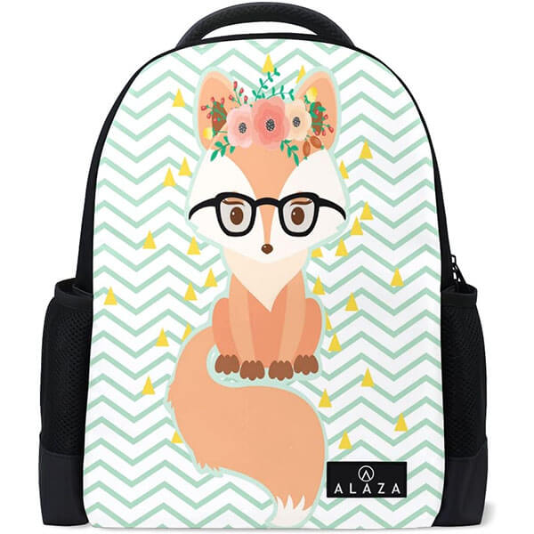 Cool Fox in Glasses Adults Backpack