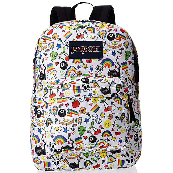 Over the Rainbow Emoji Themed Backpack
