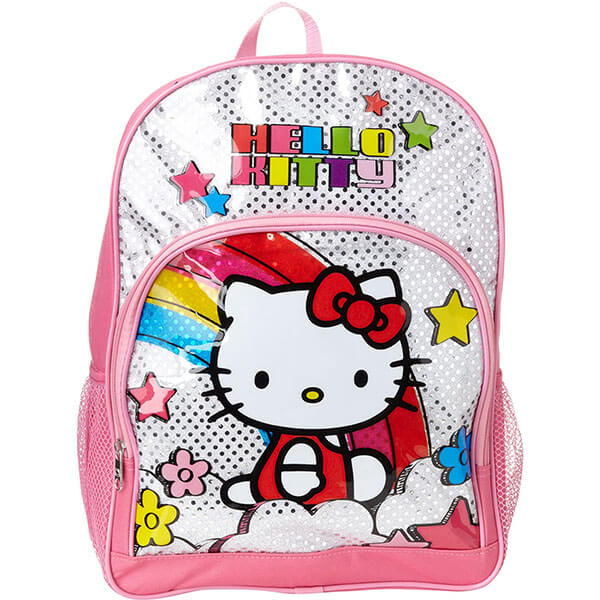 Rainbow Star Hello Kitty Backpack