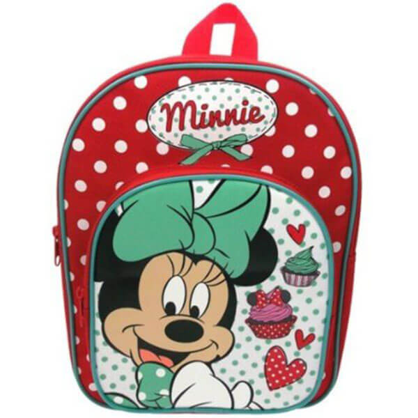 Red Cupcake Canvas Disney Backpack