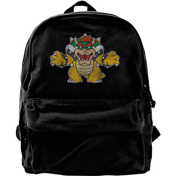 Black Bowser Backpack