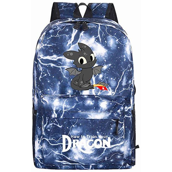 Little Fury with Blue Lighting Backpack