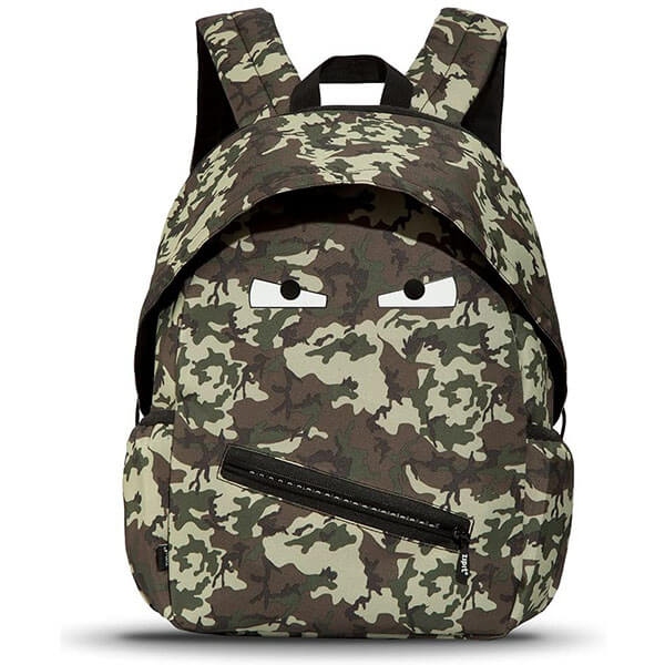 Shiny Eyes Camouflage Backpack