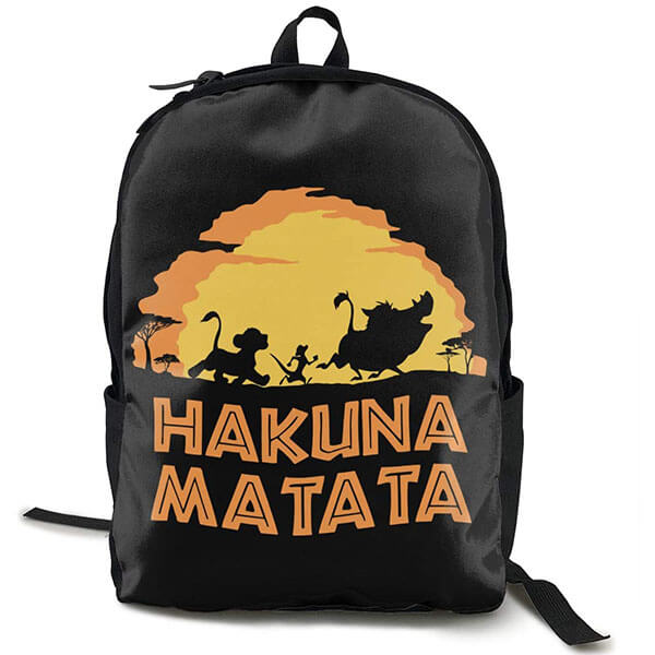 Timon and Pumbaa Lion King Backpack