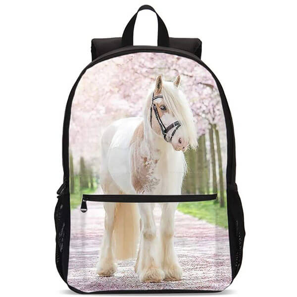 Unique Sakura 3D Backpack for Girls