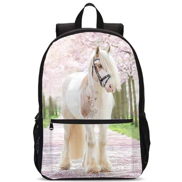 Unique Sakura 3D Backpack for Girls