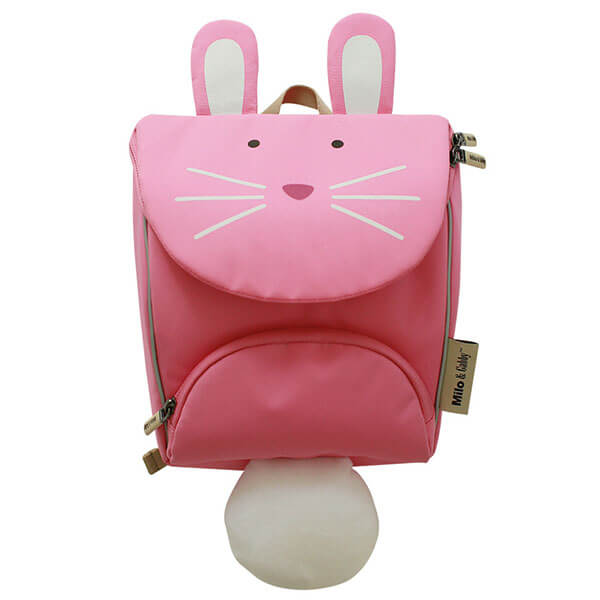3D Insulated Animal Backpack with Long Ears