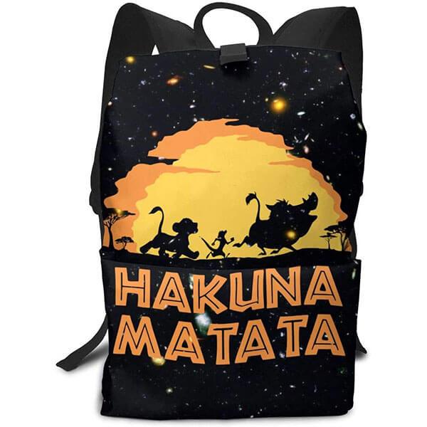 Hakuna Matata Backpack with Top Handle