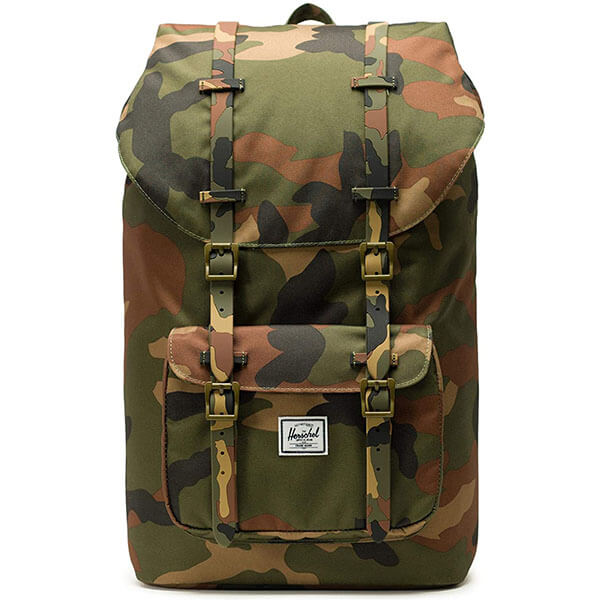 Multi Compartments Army Print Hiking Backpack