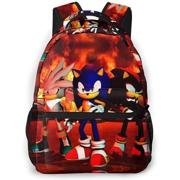 Silver, Shadow the Hedgehog Backpack