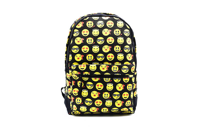 emoticon backpacks