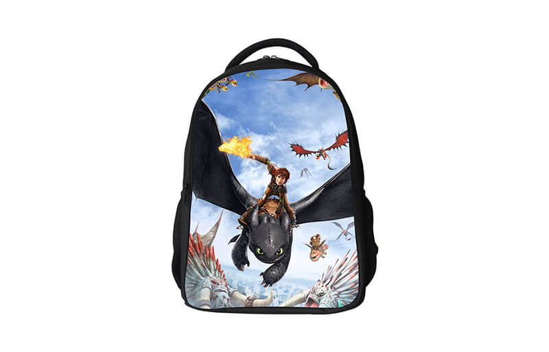 how to train your dragon backpacks