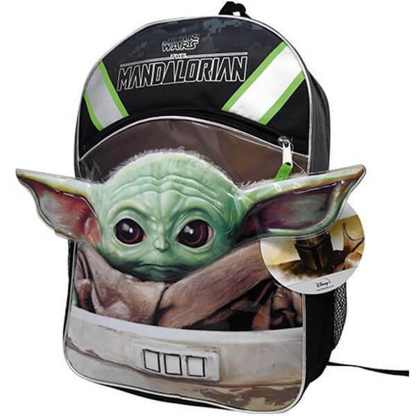 3D Yoda Backpack with Pointy Ears