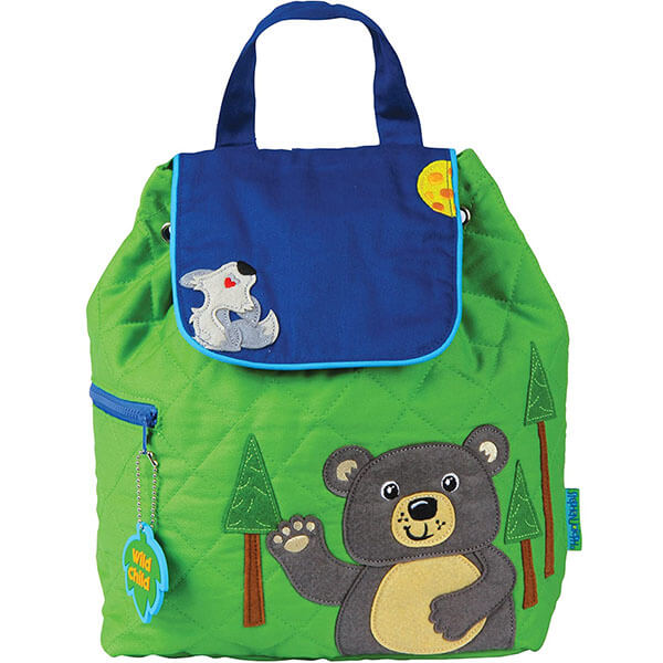 Cotton Bear Book Bag with Magnetic Zip