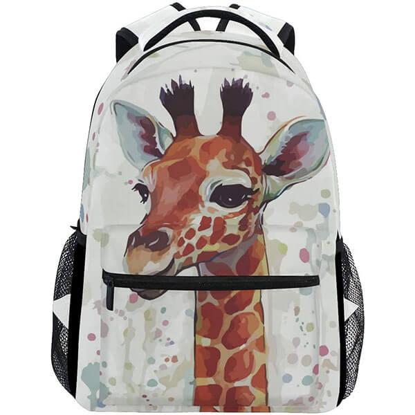 DIY Fashion Giraffe Backpack