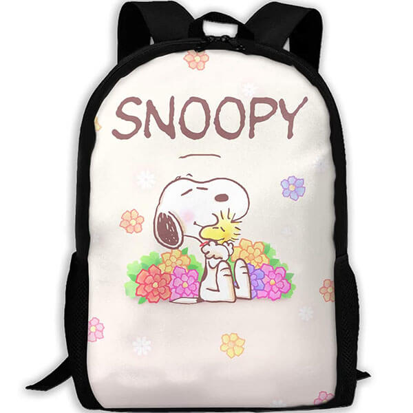 Lightweight Snoopy Causal Backpack for Kids