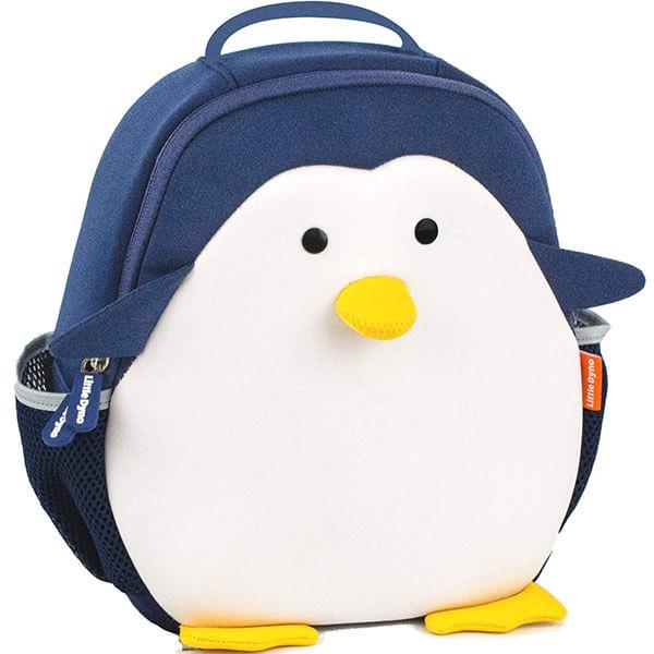 Neoprene Penguin Backpack with LunchBag