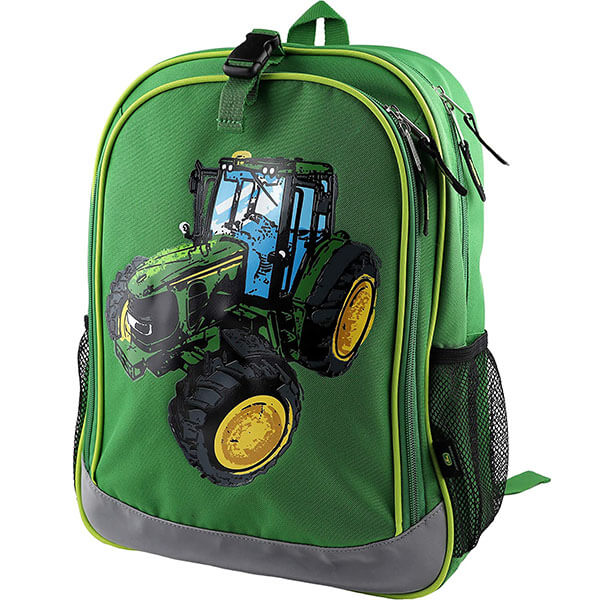 Polyester Tractor Backpack with Lunchbox Clip