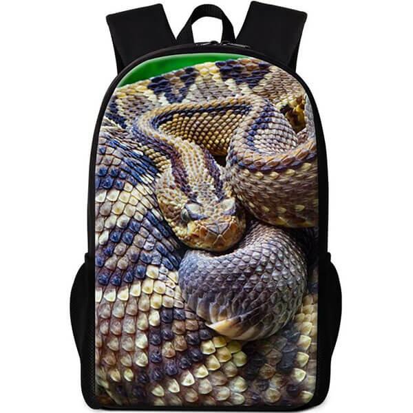 Python Print Cool Snake Backpack