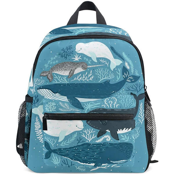 Whales in the Coral Sea Backpack