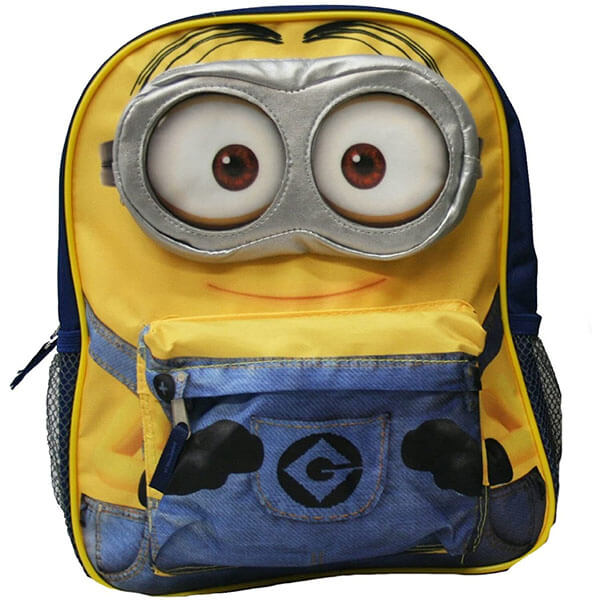 Yellow Smiling Minion Backpack