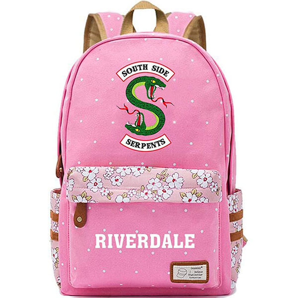 Adorable Pink Colour Riverdale Backpack