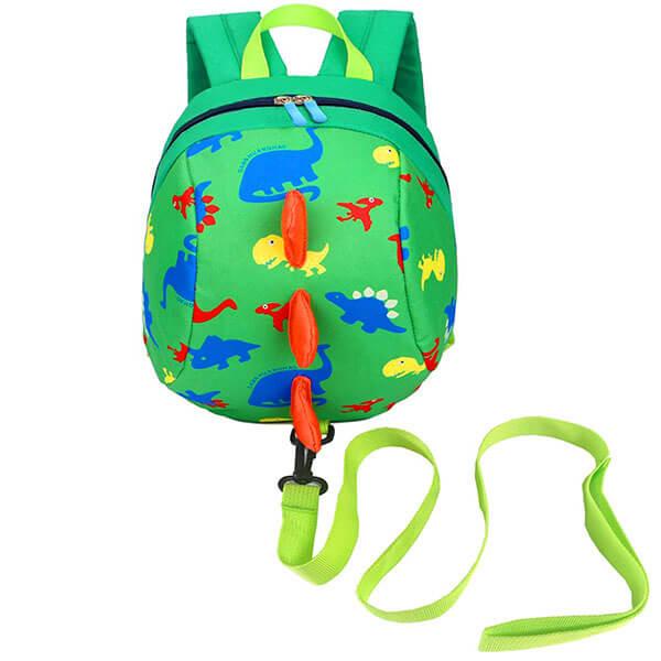 All Over Dinosaur Print Spike Backpack