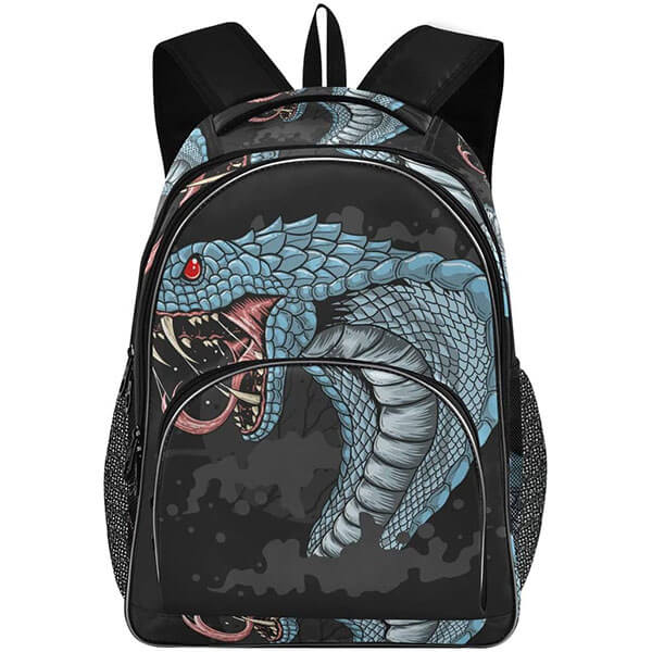 Angry Cobra Laptop Backpack