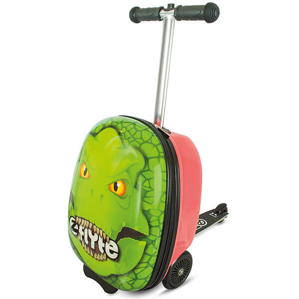 Dinosaur Scooter Luggage Backpack