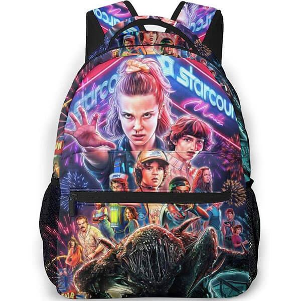 Grade Schooler's Stranger Things Season 3 Backpack