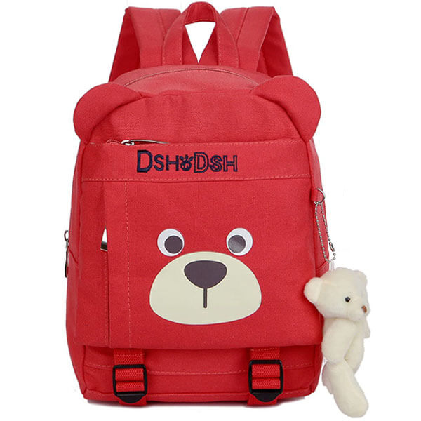 Light-weight Canvas Teddy Backpack