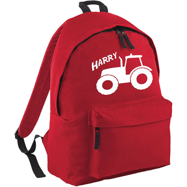 Personalized Tractor Fashion Backpack