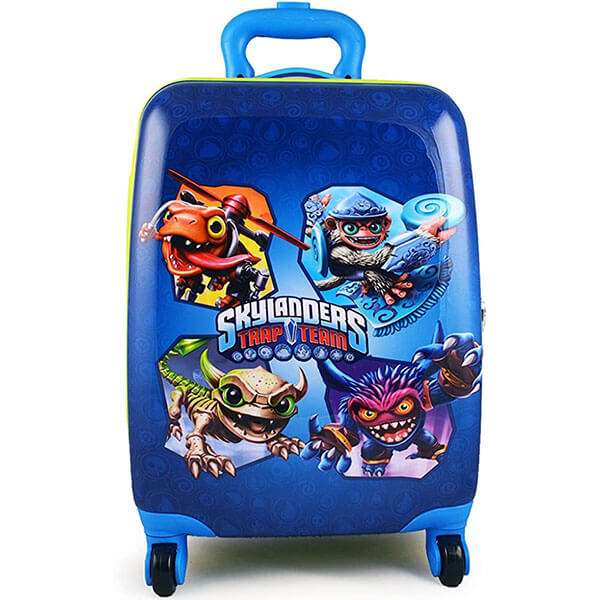 Skylanders Trap Team Rolling Luggage Case