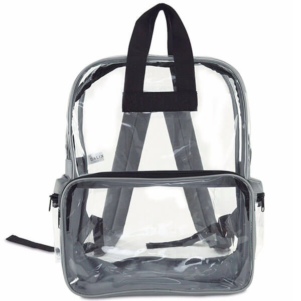Top Double Handled Vinyl School Backpack