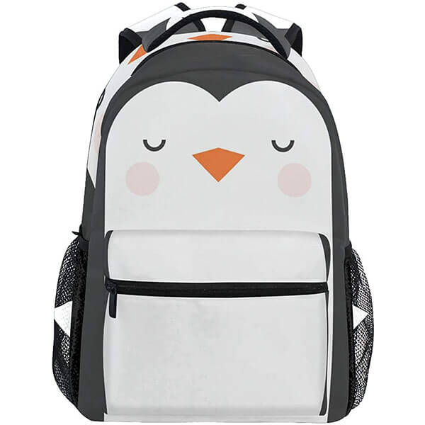 Twill Weave Schoolers Penguin Backpack